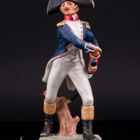 Фигурка из фарфора Пехотный офицер, 1812, Goebel, Германия.