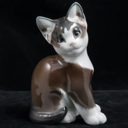 Черно-белый котенок, Rosenthal, Германия, 1960 гг
